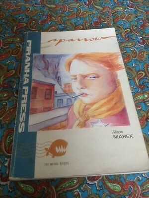 Sparrow by Alison Marek. Piranha Press, 1990, Graphic Novel