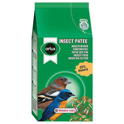 Versele Laga - Insect Pâtée Bec Fin Orlux pour Insectivores - 200g