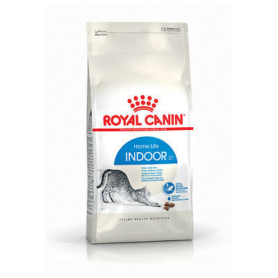 Royal Canin - Croquettes Indoor 27 pour Chat - 2Kg