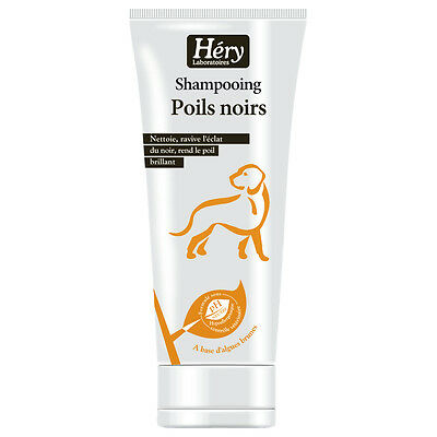 Héry - Shampoing Poils Noirs pour Chien - 200ml