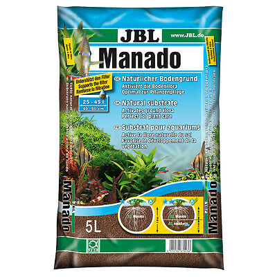JBL - Substrat Sol Naturel Manado pour Aquarium - 5L