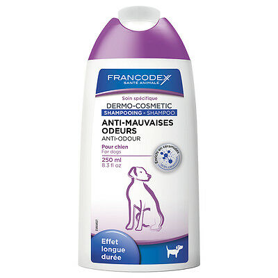 Francodex - Shampoing Anti-Mauvaises Odeurs pour Chien - 250ml