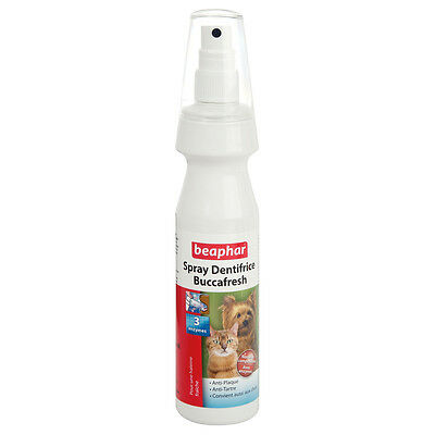 Beaphar - Spray Dentifrice Buccafresh 3 Enzymes pour Chien - 150ml