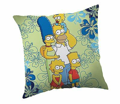 The Simpsons Family Flowers Cushion Pillow By BestTrend