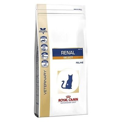 Royal Canin - Croquettes Veterinary Diet Renal Select RSE 24 pour Chat - 4Kg