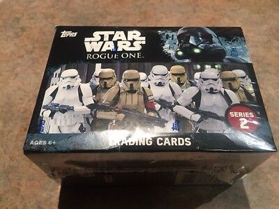 "L@@k Topps Star Wars ""rogue One: Series Two "" Factory Sealed Box"