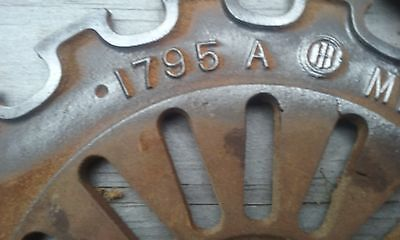 Farmall Cub, and other International planter plates