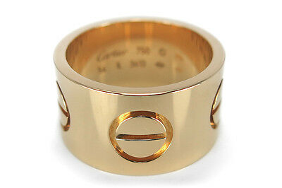 Cartier LOVE Ring Gr. 54 750 Gelbgold [BRORS 14689]