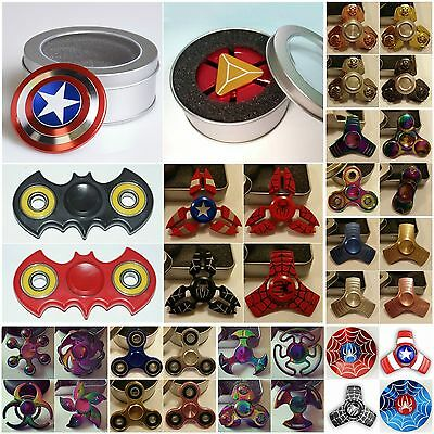 Fidget spinner superhero hand finger figet spinners kids toy EDC Relief SALE