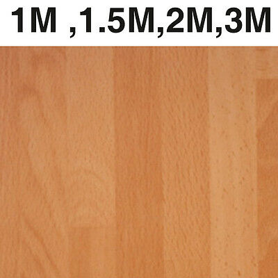 Laminate 30mm Beech Butcher laminate kitchen worktop 2m, 3m, 1.5m &1m lengths