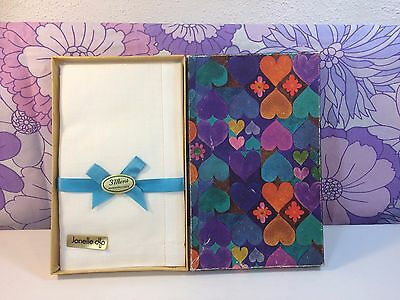 Vintage Retro 1960s Jonelle Boxed Mens Handkerchief Psychedelic Box Fathers Day