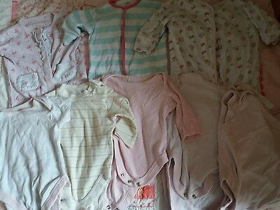 0/3month baby girls babygrow and vest bundle from.next