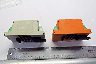 Wieland Bamberg WEB1001 Relay Modules (2 Pcs)