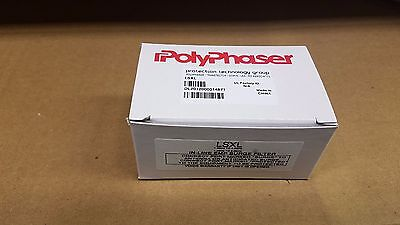 Polyphaser LSXL High Pass Surge/Filter Protector (In-line EMP Surge Filter)
