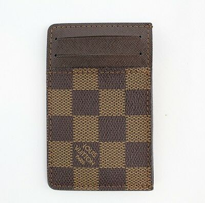 Louis Vuitton Brown Demier Card Holder