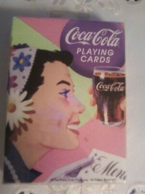 Coca Cola Bicycle Playing Cards Fashionable  Styles Vintage Sealed Deck - NICE!