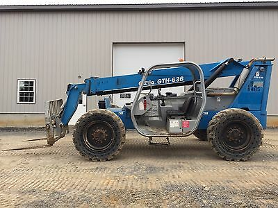 2006 Genie Gth636 Telehandler Telescoping Forklift Low Cost Shipping Rates