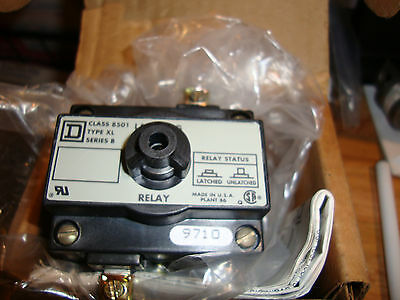 New Square D 8501 Xl Series B Mechanical Relay Latch Attachment