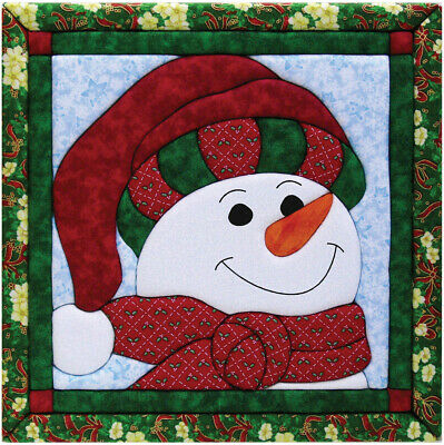 "Quilt Magic QM426 Snowman  Kit-12""X12"""
