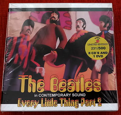 THE BEATLES EVERY  8 CD´S+ 1 DVD+ 1 BOOKLET - 20 PAG sealed