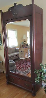 Beautiful Antique Armoire Wardrobe