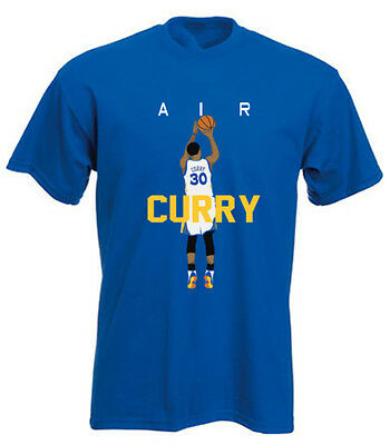 """Steph Curry Golden State Warriors """"AIR PIC"""" jersey T-shirt Shirt or Long Sleeve"""