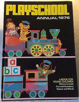 """""""PLAYSHOOL"""". Annual. HB. from 1996 in gc."""
