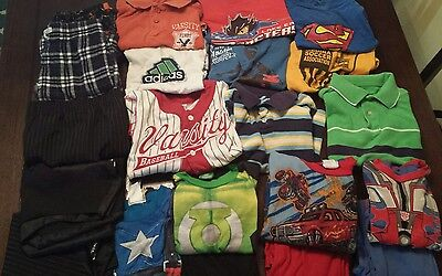 Name Brand Boys Clothes Lot Size 6-7