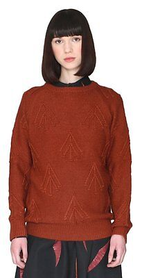 (TG. Small) Pepa Loves Bouquet, Pullover Donna, Orange (Rust), 42 (t2d)