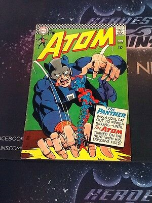 Silver Age The Atom #27 The Panther 1966 Gil Kane FN 6.0