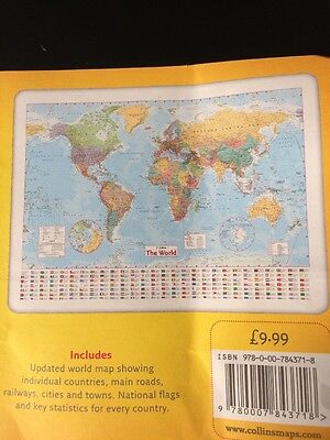 Collins World Wall Map Poster