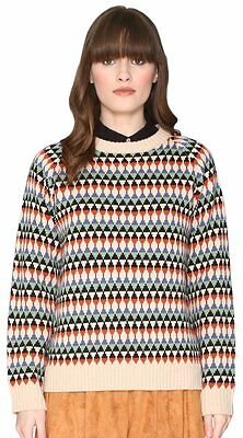 (TG. Large) Pepa Loves 107998, Pullover Donna, Multicolore, 46 (t1Y)
