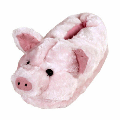 Pig Slippers - Pink Animal Slippers - Adult & Kids Sizes In Stock