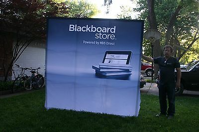 Expandable Media Trade Show  HUGE Display POP Up Banner Screen Stand
