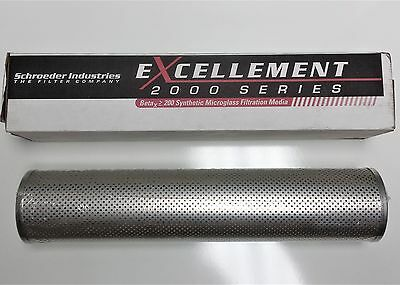 "*NEW* Schroder KK3 Hydraulic Filter Replacement Element, 18"", 3-micron"