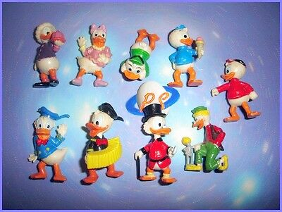 Disney Donald Duck Ducktales 1987 Kinder Surprise Figures Set - Collectibles