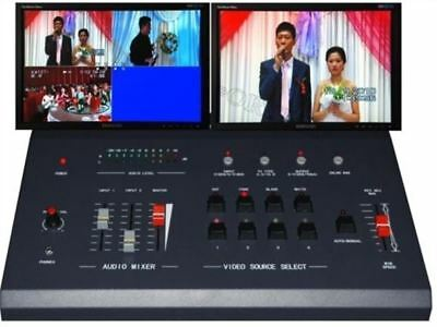 4 Way Live Production Switcher Sh868p Multi-Format Live Video Switcher O