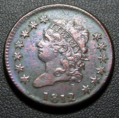 1812 Classic Head Large Cent Turban Head *HIGHER GRADE*