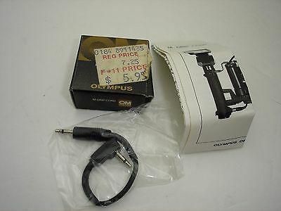 Olympus OM System M Grip Cord with manual and box  #001625
