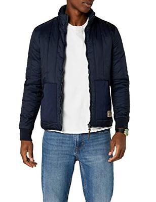 (TG. Large) Redskins Matt Puffer, Impermeable Uomo, Blu (Navy Blue), (v8T)