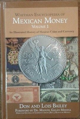 2014 BOOK Whitman encyclopedia of mexican money vol 1 history coins currency