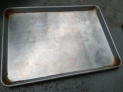 Commercial Grade - Aluminium Oven Baking Pan Cooking Tray For Bakers