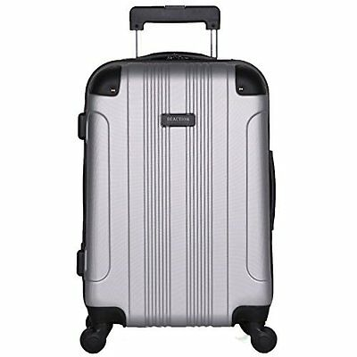 New 4 Wheel Upright Suitcase 20-Inch Carry On Luggage Travel Lightweight Spinner