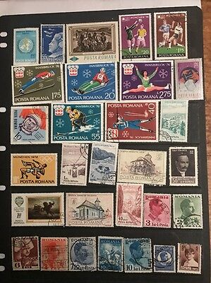 stamps  Romania - Used  - lot 629