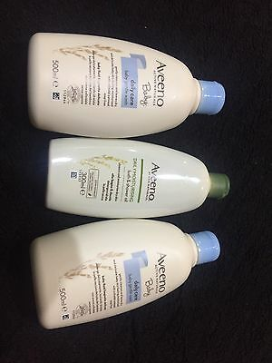 Aveeno Baby Gentle Wash 500 Ml AND AVEENO OIL 300 Ml
