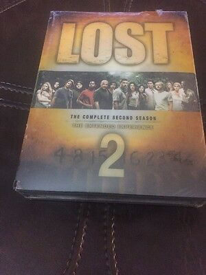 Lost The Complete Second Season 2 (DVD, 2006, 7-Disc Set) Brand New Sealed