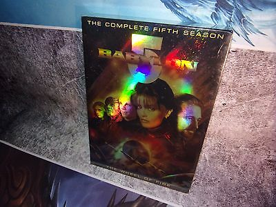 Babylon 5 - The Complete Fifth Season (DVD, 2009, 6-Disc Set) NEW SEALED