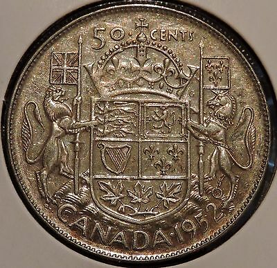 Canada Half Dollar - 1952 - King George VI - $1 Unlimited Shipping