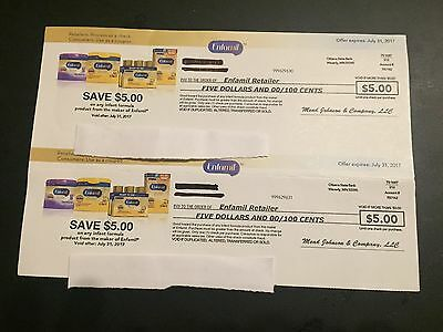 Enfamil $10.00 in Checks/Coupons Expires on July 31, 2017