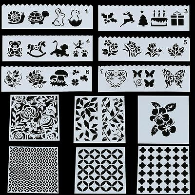 Home Decor Album Scrapbooking DIY Craft Stencil Card Making